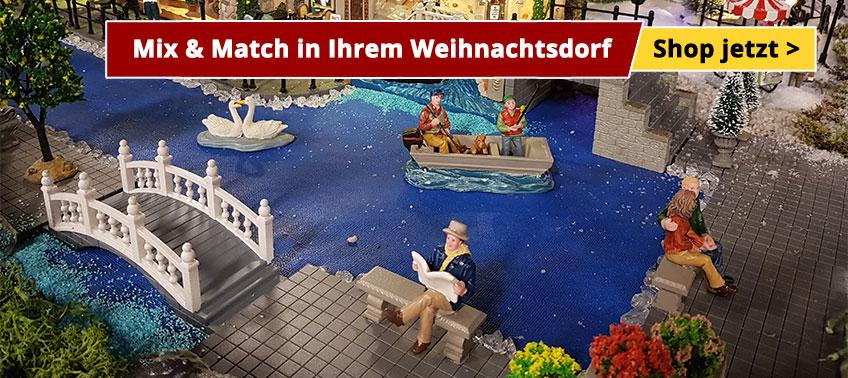 Mix & Match in Ihrem Weihnachtsdorf
