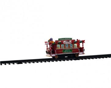 Lemax Jolly Trolley