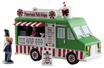 Lemax Peppermint Food Truck