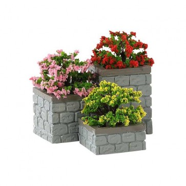 Lemax Flower Bed Boxes