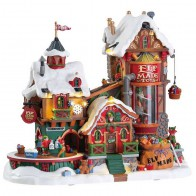 Lemax Elf Made Toy Factory + 4,5 Volt Adapter