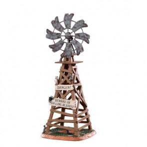 Lemax Spooky Windmill