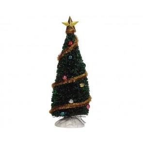 Lemax Sparkling Green Christmas Tree, Medium