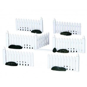 Lemax Plastic Picket Fence