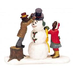 Lemax Dressing Mr. Snowman