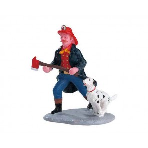 Lemax Fireman