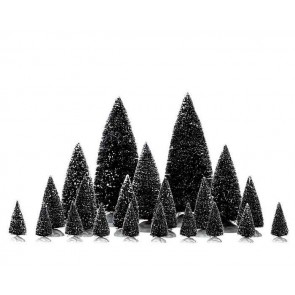 Lemax Assorted Pine Trees 21pc