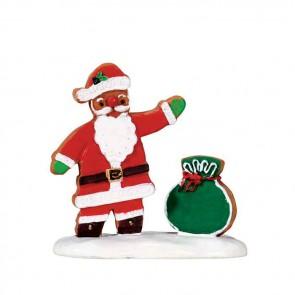 Lemax Gingerbread Santa