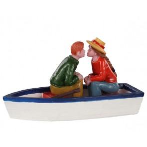 Lemax Pond Romance