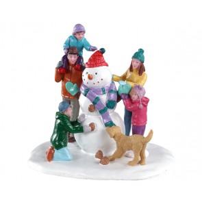 Lemax Snowman Teamwork
