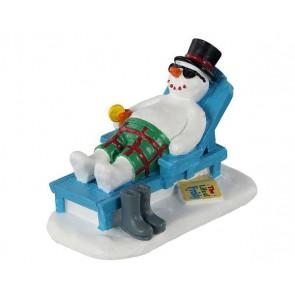 Lemax Relaxing Snowman