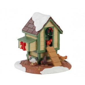 Lemax Christmas Coop