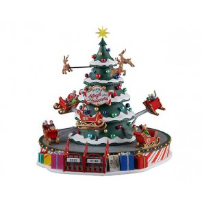 Lemax Santa'S Sleigh Spinners + 4,5 Volt Adapter
