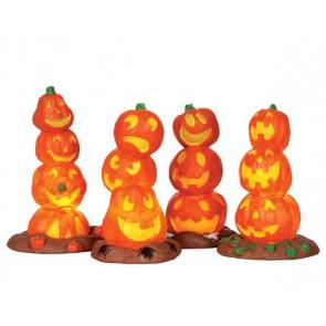 Lemax Light Up Pumpkin Stack