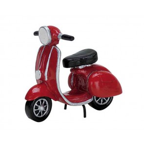 Lemax Red Moped