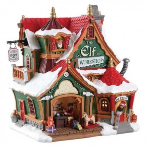 Lemax The Elf Workshop