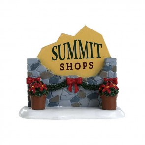 Lemax Summit Sign