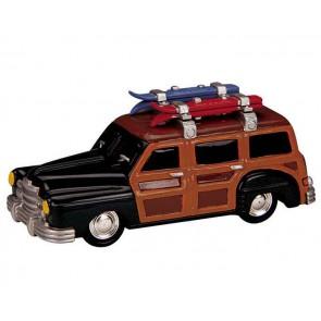 Lemax Beach Wagon