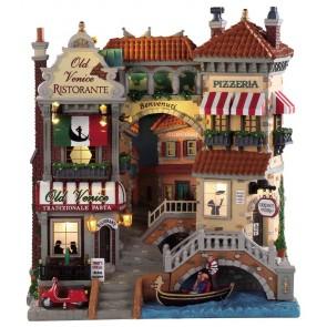 Lemax Venice Canal Shops
