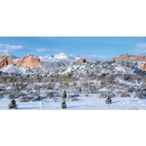 My Village Hintergrund Tuch - Colorado 150x75CM
