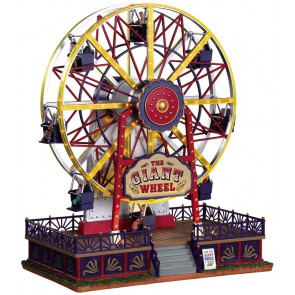 Lemax The Giant Wheel + 4.5 Volt Adaptor