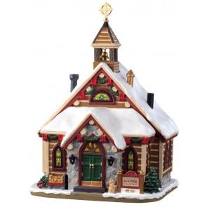 Lemax Pinewood Springs Chapel