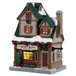 Lemax The Secret Santa Christmas Shoppe