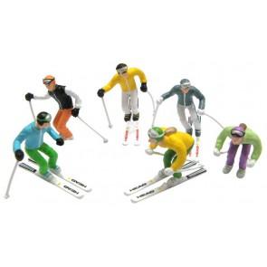 Jägerndorfer stehende Figuren 6 x + Ski's