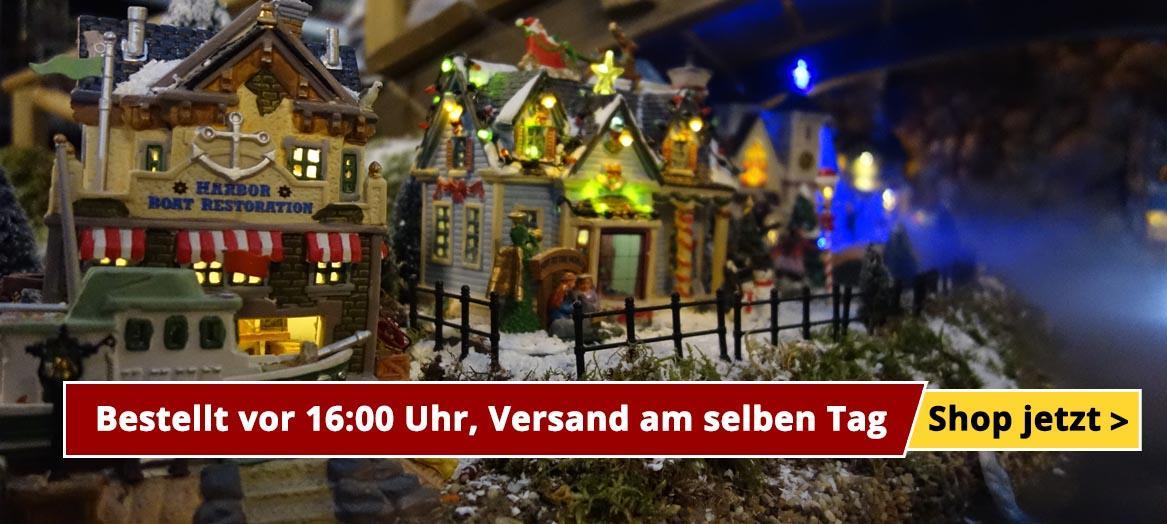 Lemax Weihnachtsdorf bauen - Offizieller Lemax Händler | Wishpel.de