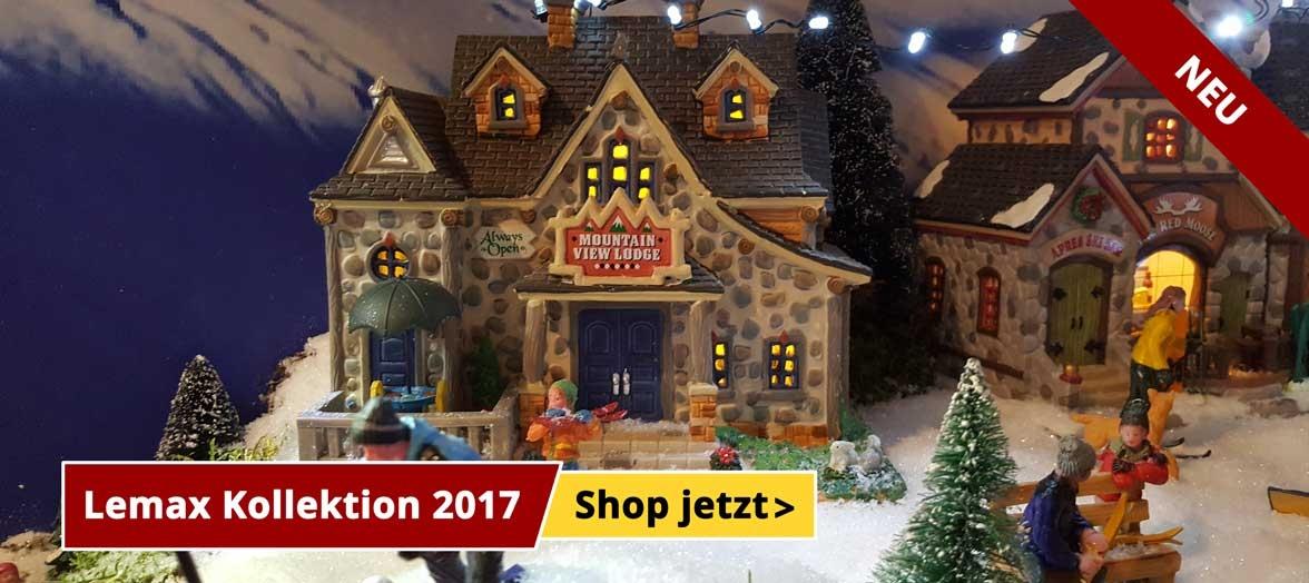 Neue Lemax kollektion 2017 - Shop jetzt!
