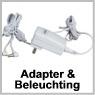adapter und beleuchting